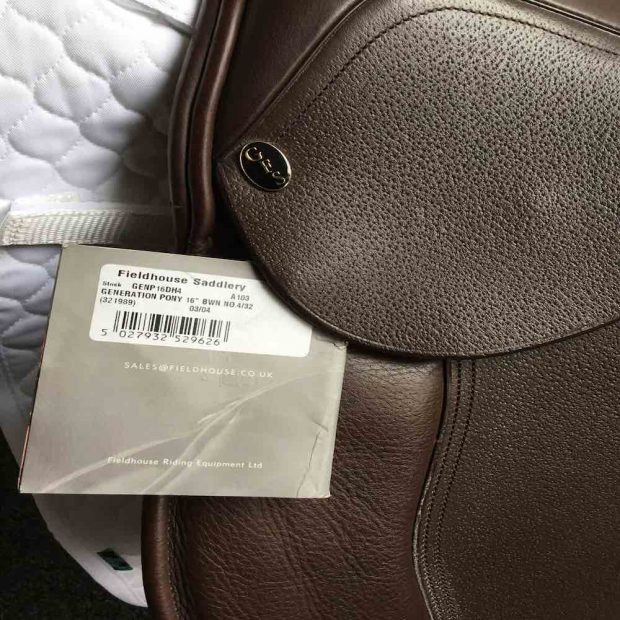 GFS 16 Generation Pony GP Saddle 4